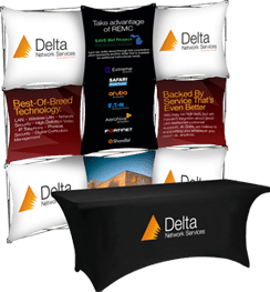 Delta Networking Services Display